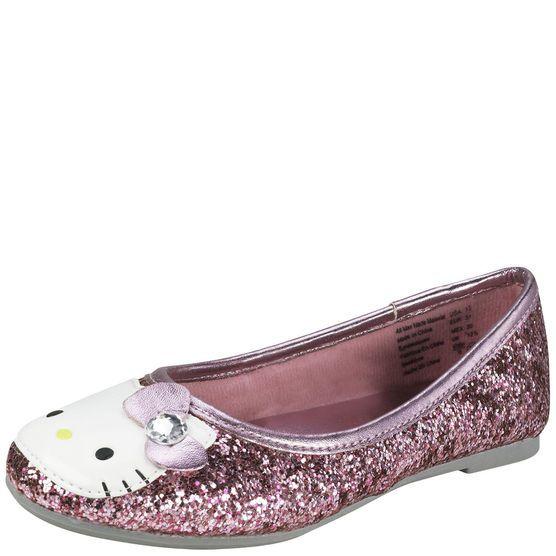 Hello Kitty Glitter Ballet Flat