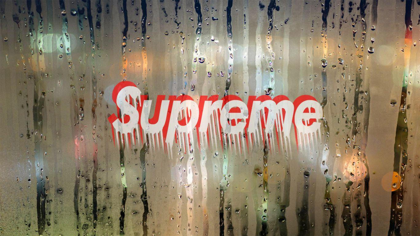 Fondos De Pantalla Supreme: HD Drippy Supreme Logo Cool Background/wallpaper