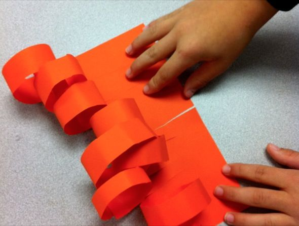 Fine Motor Focus Teaching Kids To Curl Paper Teaching Kids 3rd