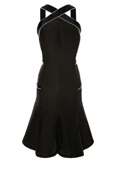 2ed049471afe8 Vintage Chanel black dress with pearl trim from What Goes Around Comes  Around