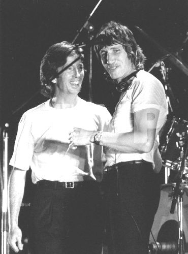 Eric Clapton and Roger Waters