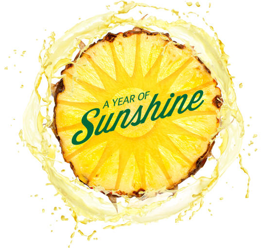 Sweepstakes Giveaway A Year of Sunshine DOLE Pineapple