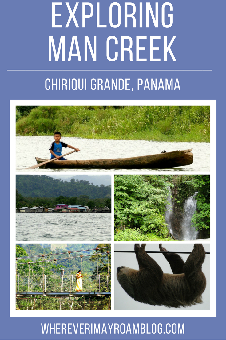 Man Creek is a boat only destination in Chiriqui Grande where Panama's indigenous population lives. Read on to see how I fell in love with the area on my visit. #panama #chiriqui #travel