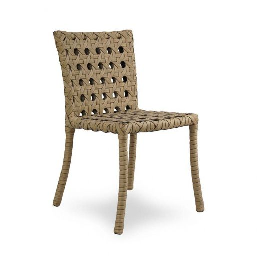 Cadeira Java para Área Externa Fibra Sintética Estrutura ...