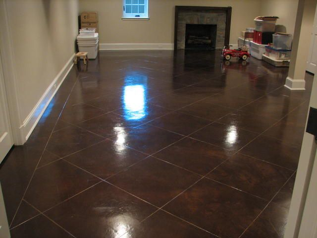 Walnut Concrete Stain For The Home Pinterest