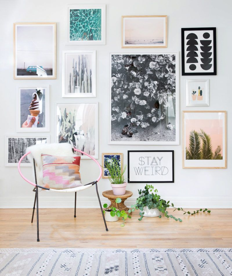 UO DIY: Gallery Wall - Urban Outfitters - Blog  Diy gallery wall