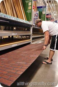 Faux Brick Panels With Images Faux Brick Panels Brick