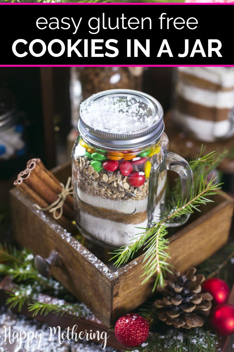 Gluten Free Cookies in a Jar Gift | Recipe | Gluten free ...