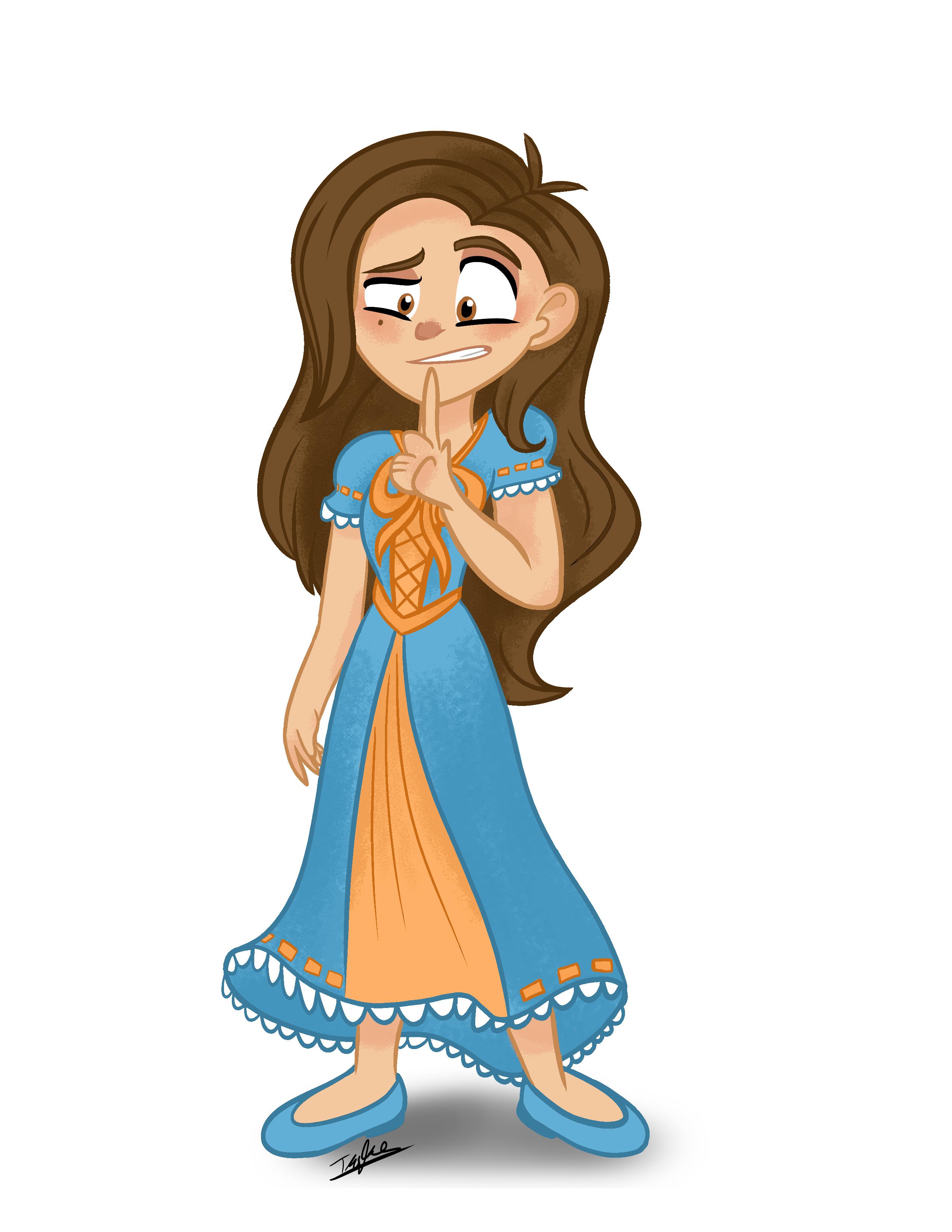 Amelia Oc Tangled Character My Character