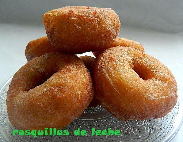 las recetas de mi abuela: ROSQUILLAS DE LECHE