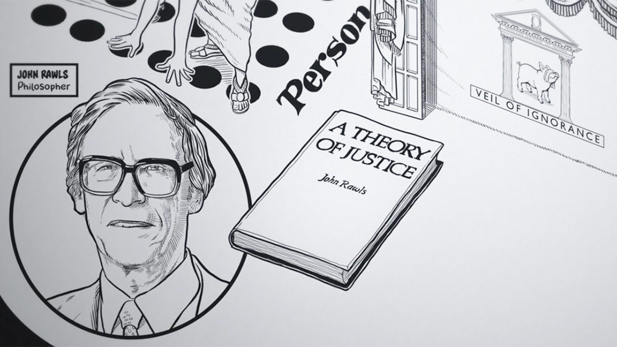 Want To Build A Just Society John Rawls Said To Start By Ignoring Your Identity Aeon Videos Society Sayings Critical Thinking