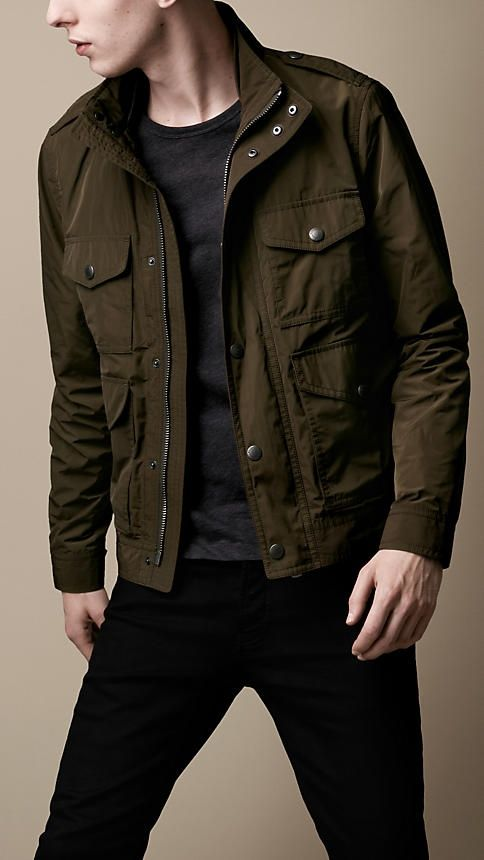 Men's Jackets | Leather Bikers, Bomber & Quilted | Burberry United States – boys clothing