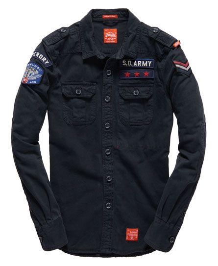 Superdry Delta Shirt  a13fa728bb