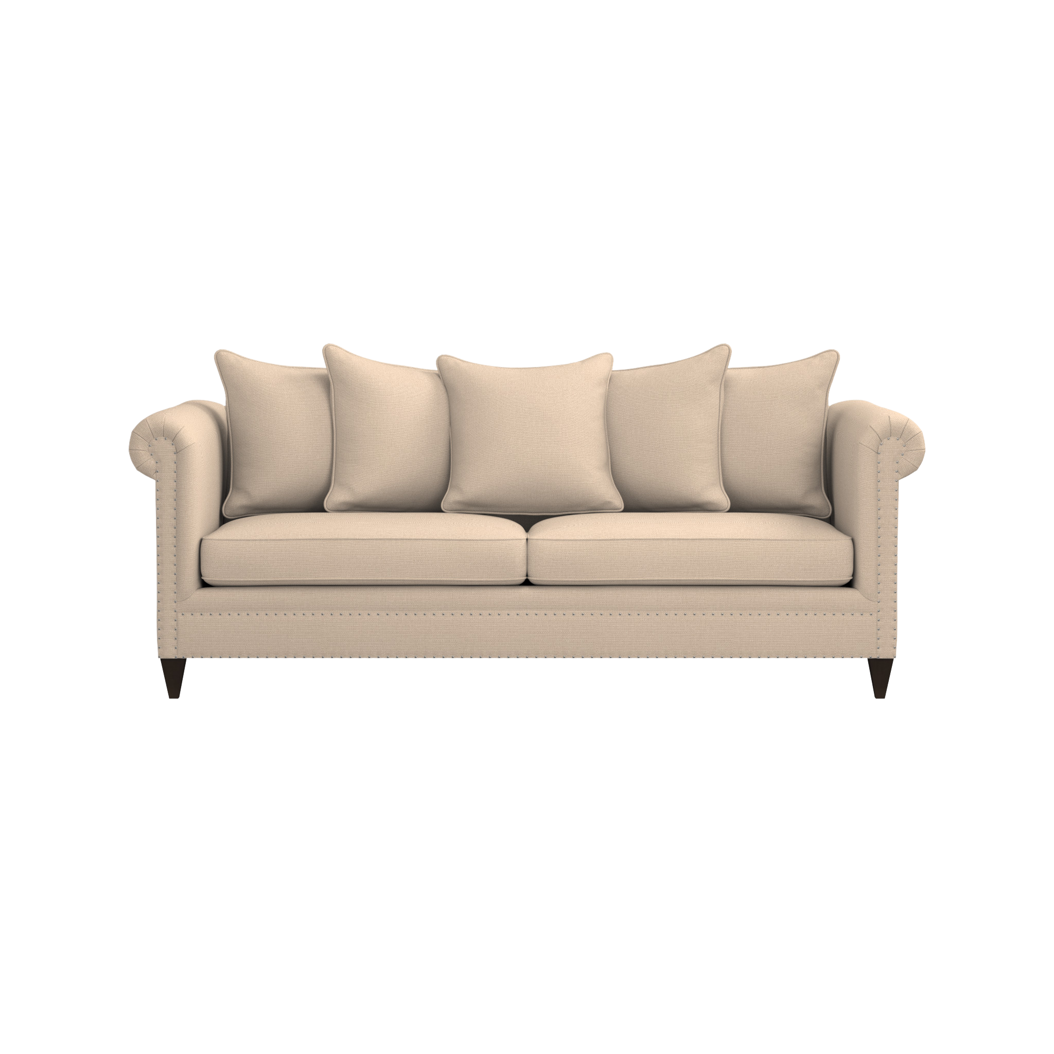 Mayo Furniture 3180F Fabric Sofa fort Sand