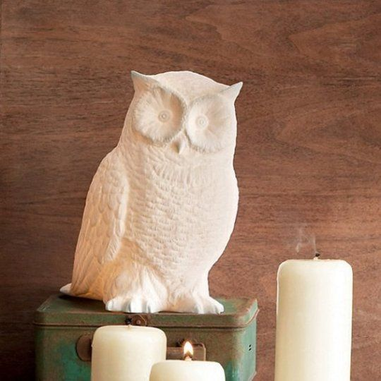 Lovely Great Horned Owl Lamp By Roost (with Video) Pictures