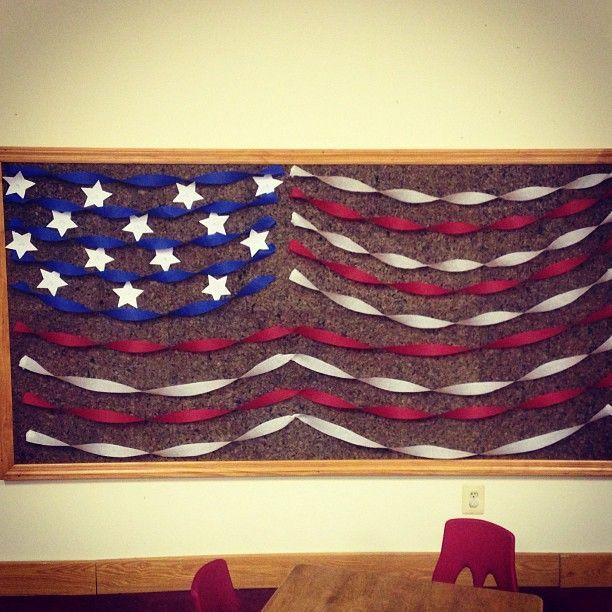 Patriotic decoaration ideas decorating ideas july for Cork board decorating ideas pinterest