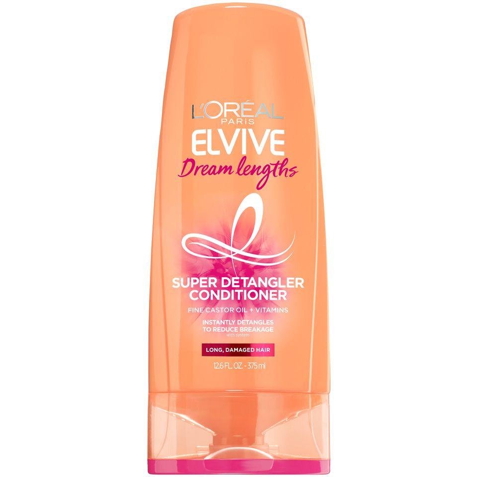 L Oreal Paris Elvive Dream Lengths Conditioner For Long Damaged Hair 12 6 Fl Oz Walmart Com In 2021 Good Shampoo And Conditioner Best Shampoos Detangler