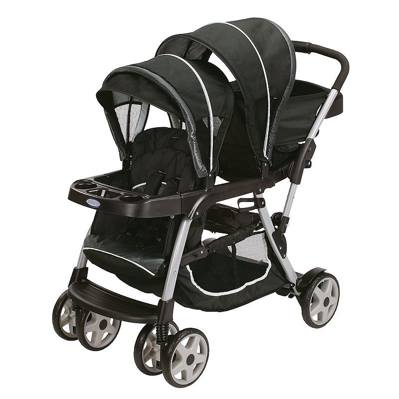 Graco Duo Jogging Stroller Graco Ready2grow Duo Click Connect Lx Stroller Baby