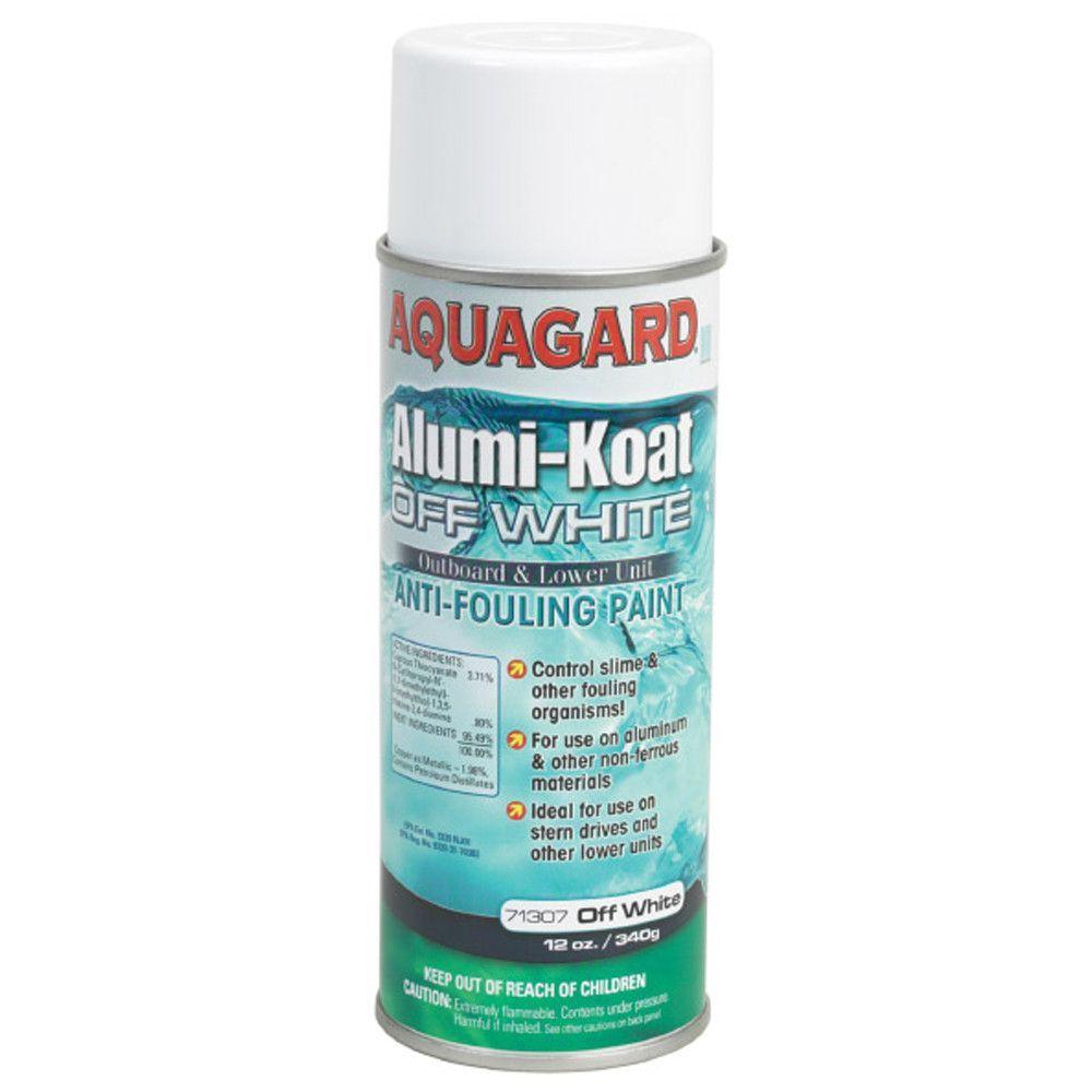 Aquagard II Alumi-Koat Spray f/Outboards & Outdrives - 12oz - White