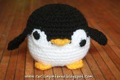 Pingüino // Penguin #Amigurumi #Crochet