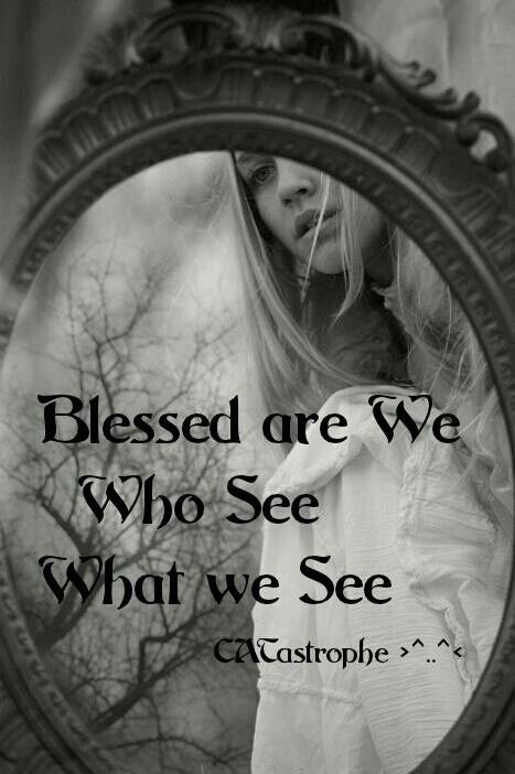 Blessed are we...