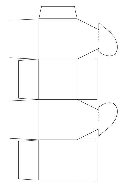 Herz Schachtel Vorlage Zum Ausdrucken Schachtel Basteln Schachteln Basteln Geschenkbox Basteln Vorlage