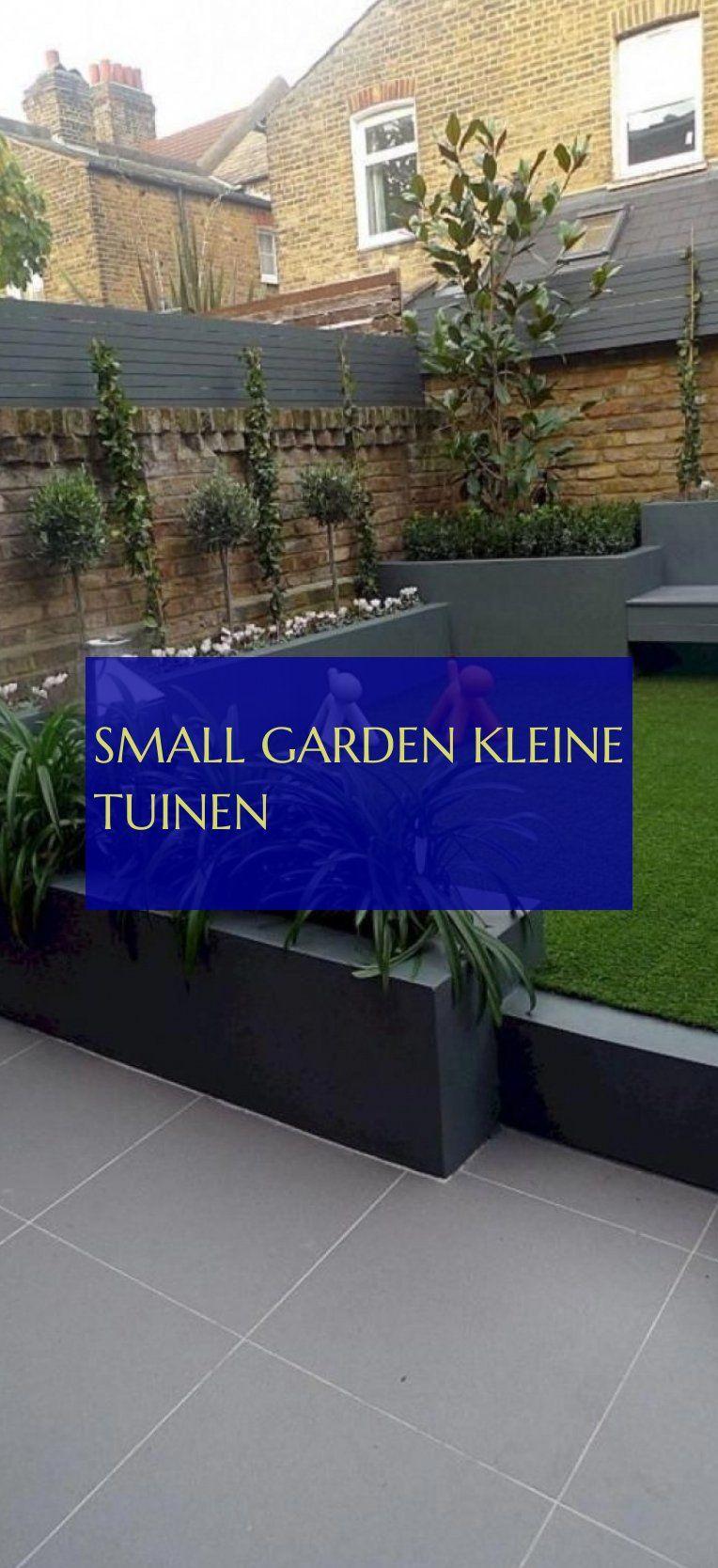 small garden Kleine Tuinen