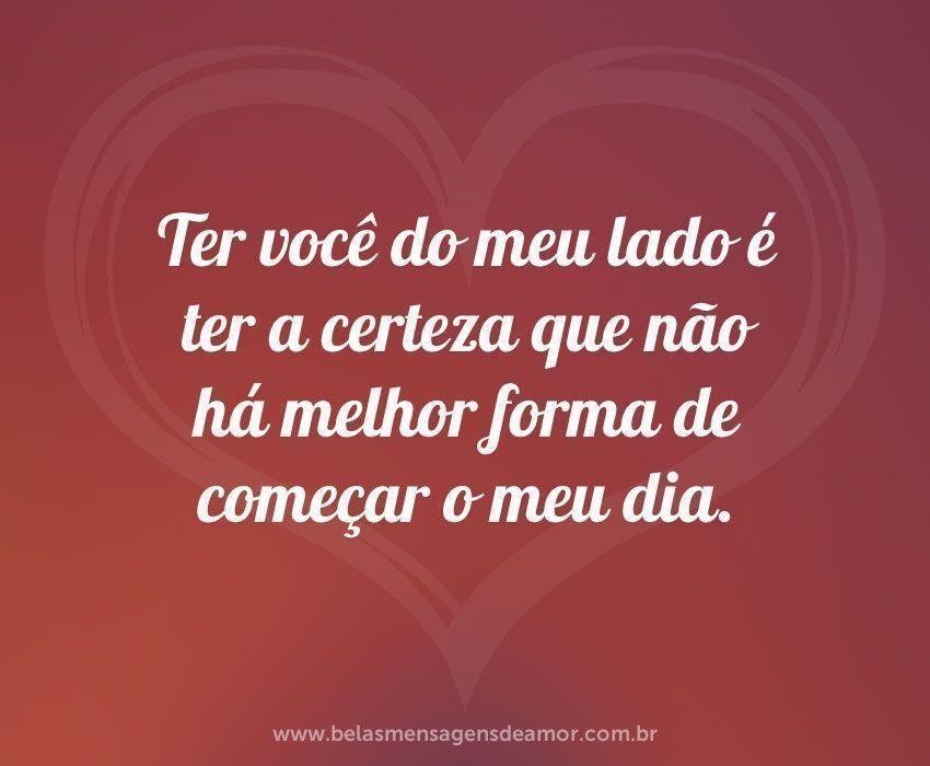 Resultado De Imagem Para Bom Dia Amor Amor Amor Mensagens De