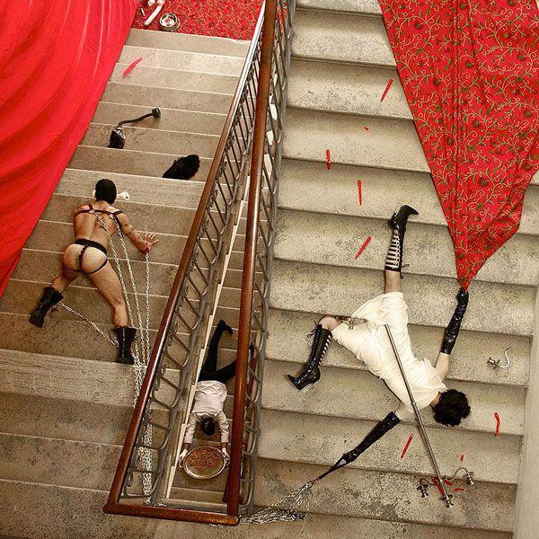 Falling Down for Art's Sake | Hint Fashion Magazine