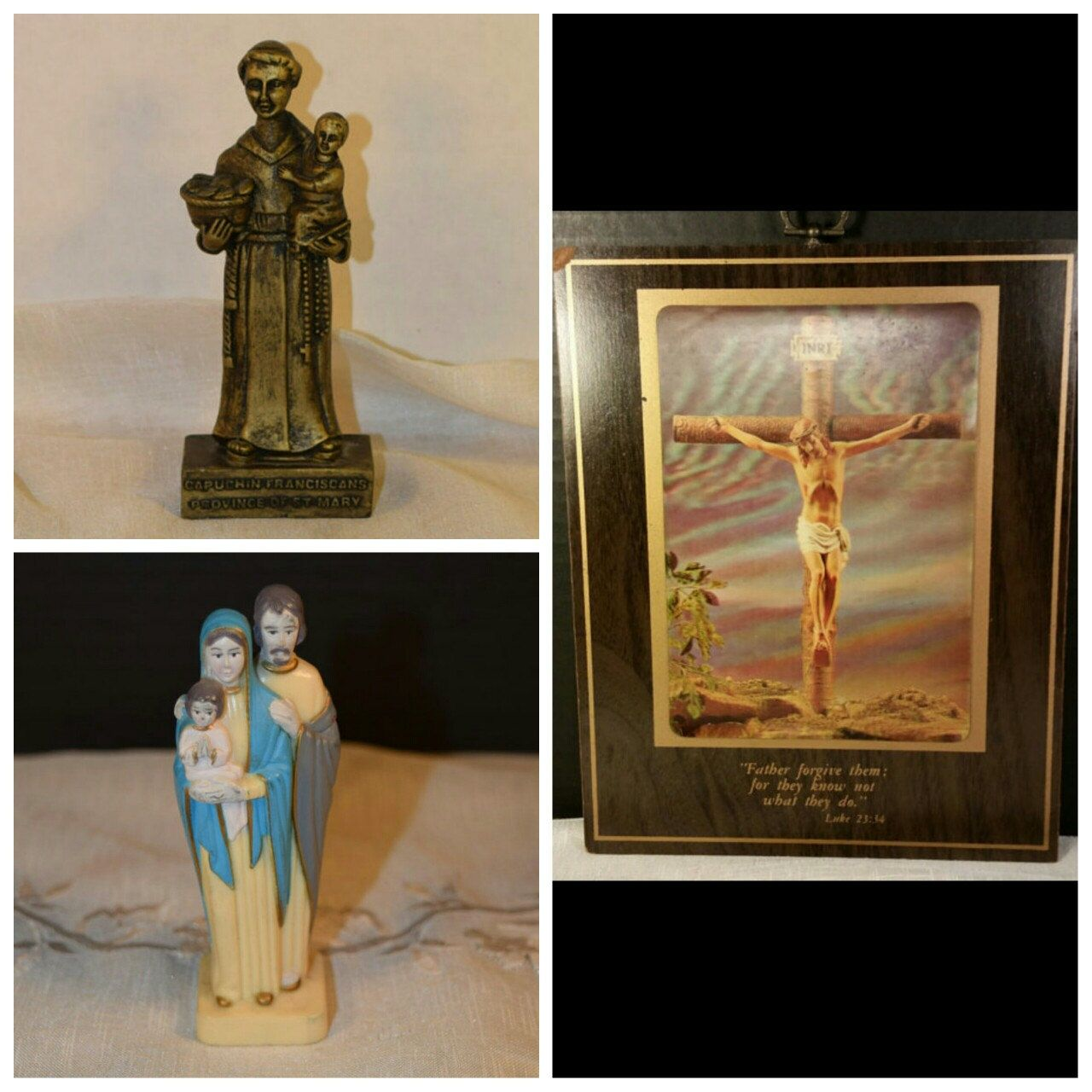 Vintage religious finds at Shellyssselectsalvage.com