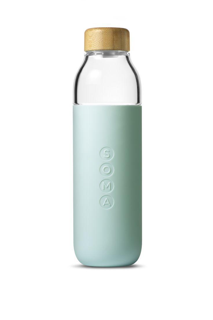 Soma Glass Water Bottle | Glass water bottle, Water bottles and Bottle