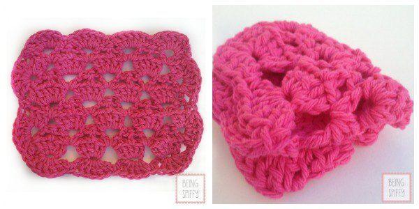 Cupcake Crochet Dishcloth Pattern | Easy crochet stitches ...