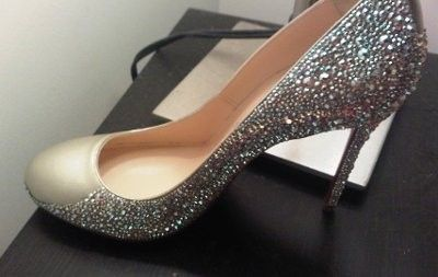 Diyi strassed my own wedding shoes using genuine swarovski crystals diyi strassed my own wedding shoes using genuine swarovski crystals and saved a ton solutioingenieria Choice Image