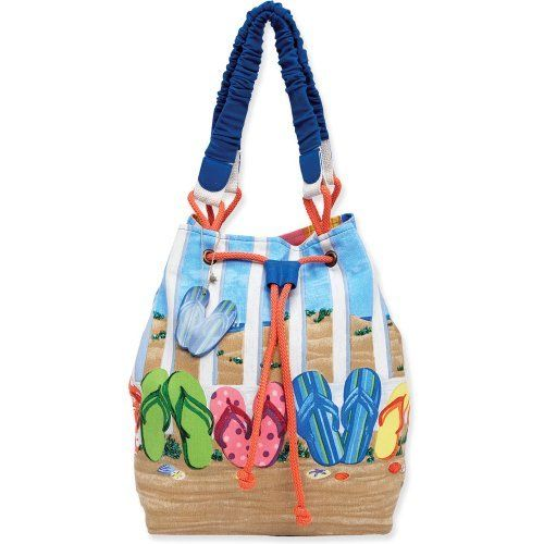 FlipFlop Messenger Bag Personalized