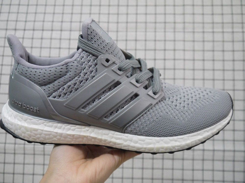 sale retailer 43d8f ec6b9 100% Authentic Women s Running Shoes Adidas Ultra Boost 1.0  Wool Grey   Size 6.5  fashion  clothing  shoes  accessories  womensshoes  athleticshoes  (ebay ...