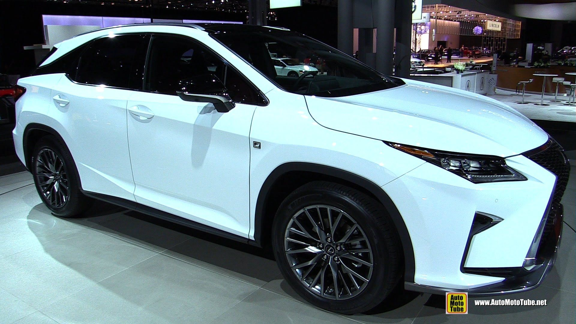 2016 lexus rx350 f sport exterior and interior walkaround debut at 2015 new