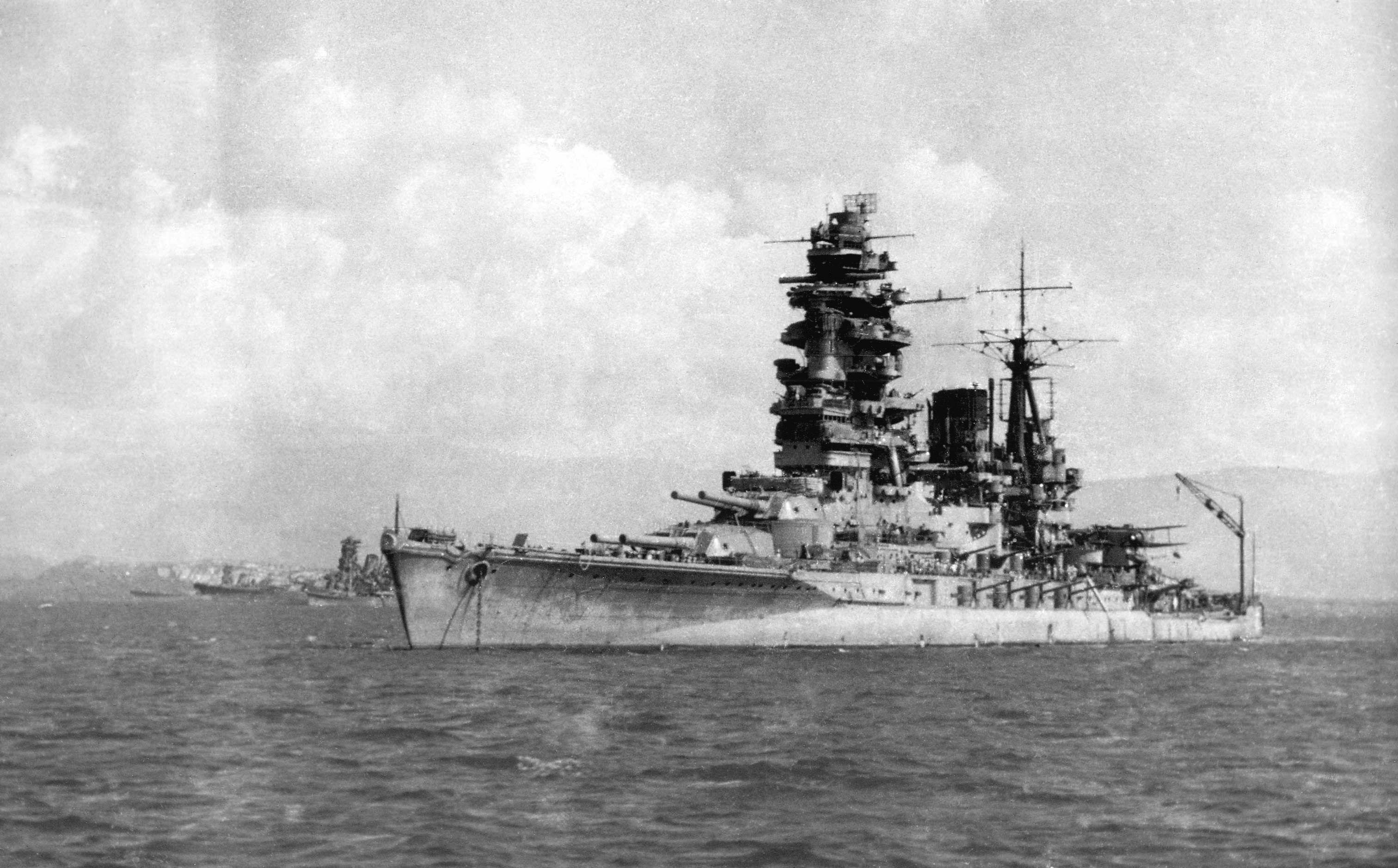 IJN Battleship Nagato, 1944