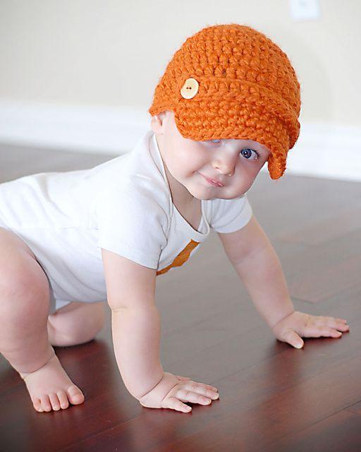Newsie Hat pattern by Adrienne Engar