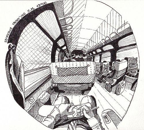 2012 10 22 Fish eye Train(ing)