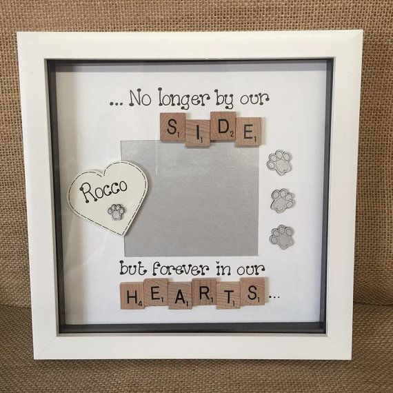 Photo Box Frame Pets Memorial Bereavment My Baby Stuff Pinterest
