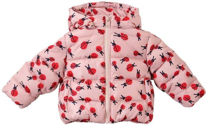 6499a20c6bf9 Ladybugs Printed Nylon Puffer Jacket