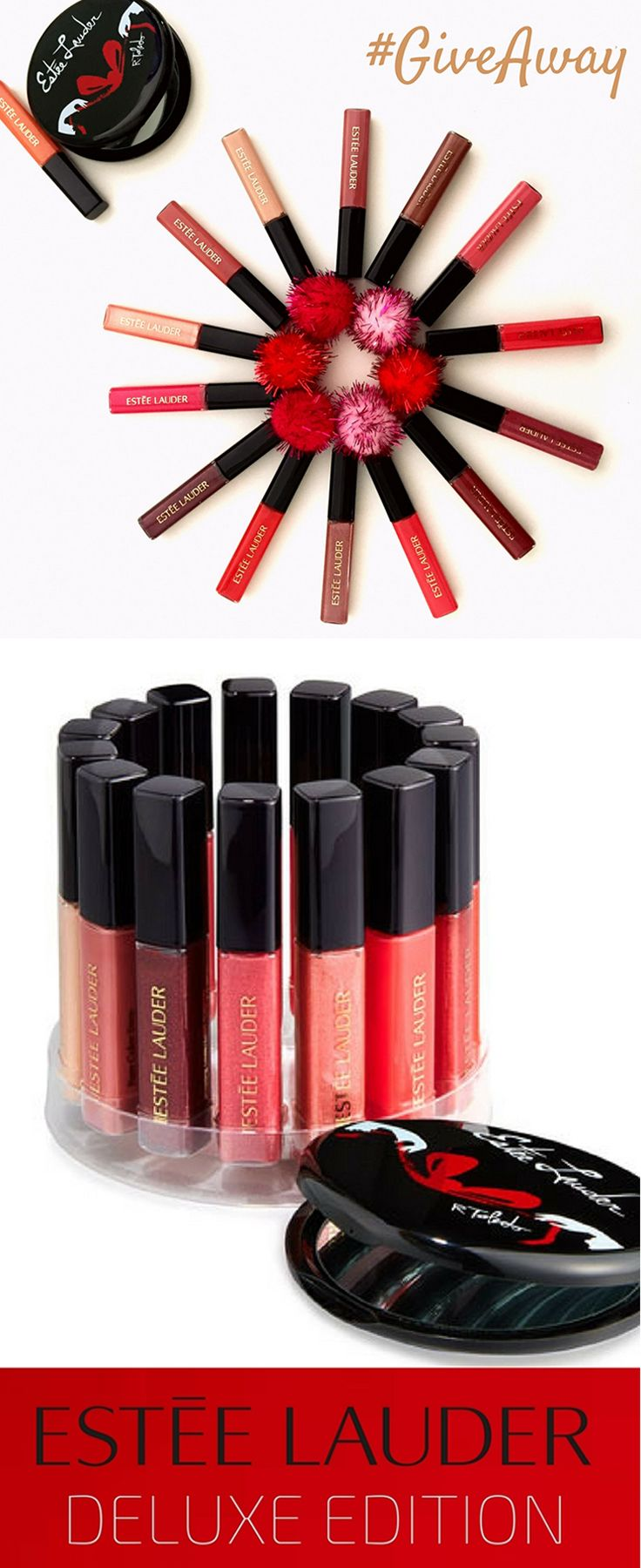 Your chance to win the Estee Lauder Gloss Go Round Deluxe