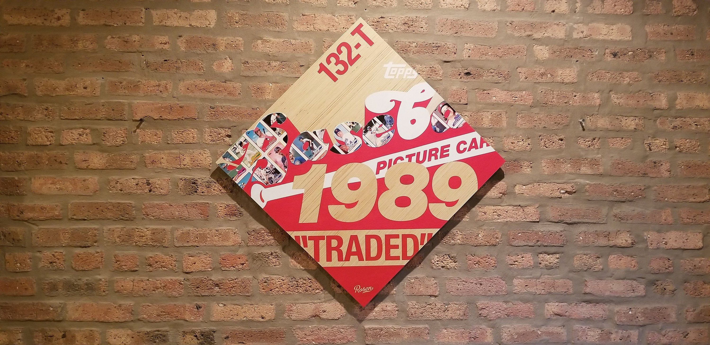1989 topps traded set card art iconic artwork old