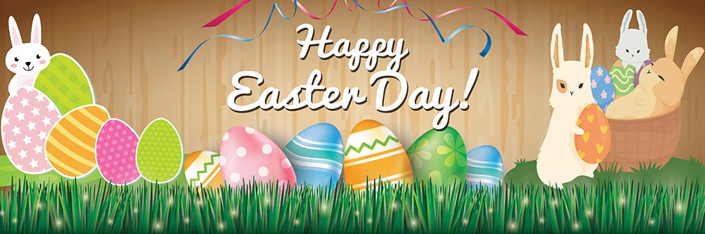 Easter Banner Printable Background Images Happy Easter Banner Easter Images Easter Banner