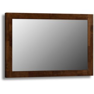 Julian Bowen Minuet Hardwood Wall Mirror Dark Brown At Argos Co Uk