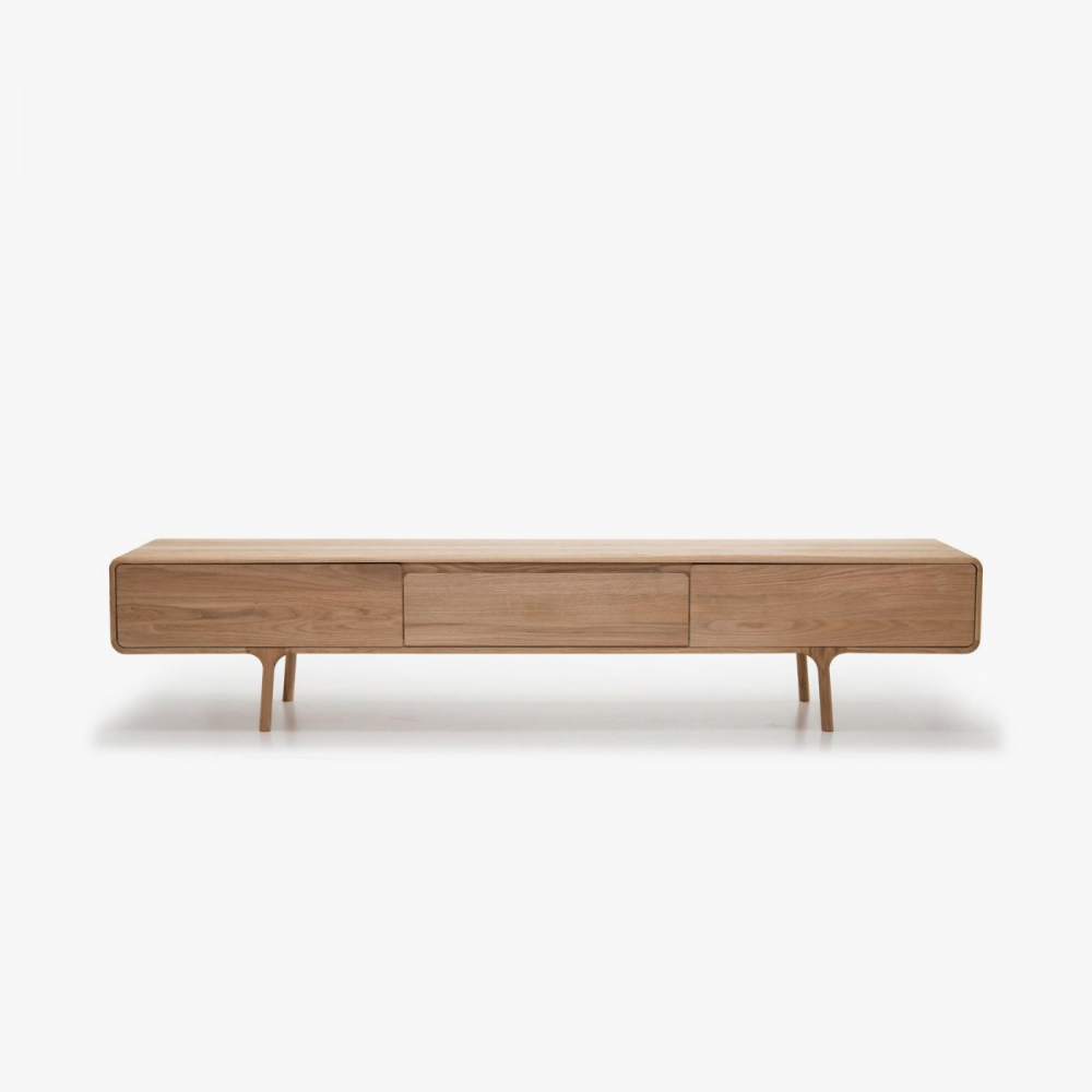 Fawn Lowboard By Gazzda Up Interiors Tv Sideboard Wooden Tv