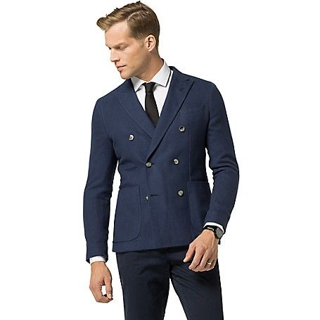 Image for TAILORED COLLECTION DOUBLE-BREASTED BLAZER from Tommy ...