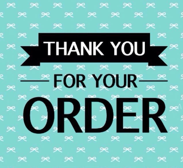 Thank You For Your Order Younique Party Thank You For Order