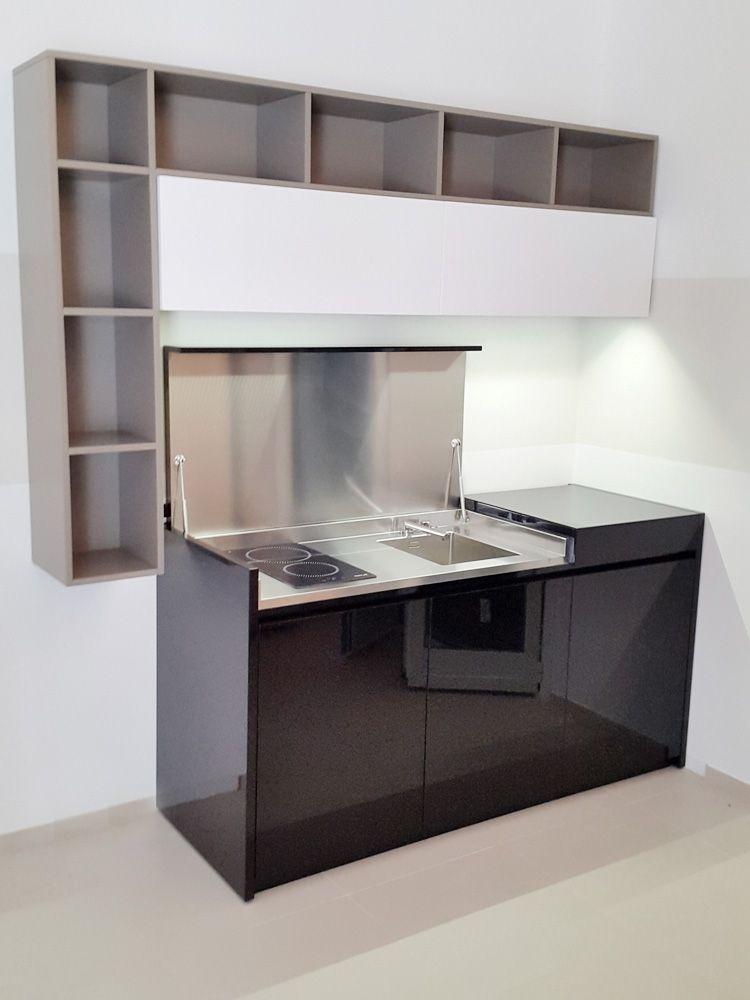 Cucine su misura a scomparsa e Mini cucine per piccoli spazi ...