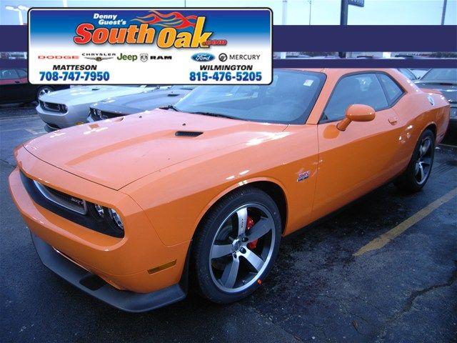 2012 Dodge Challenger SRT8! Header Orange! South Oak Dodge Chrysler Jeep!